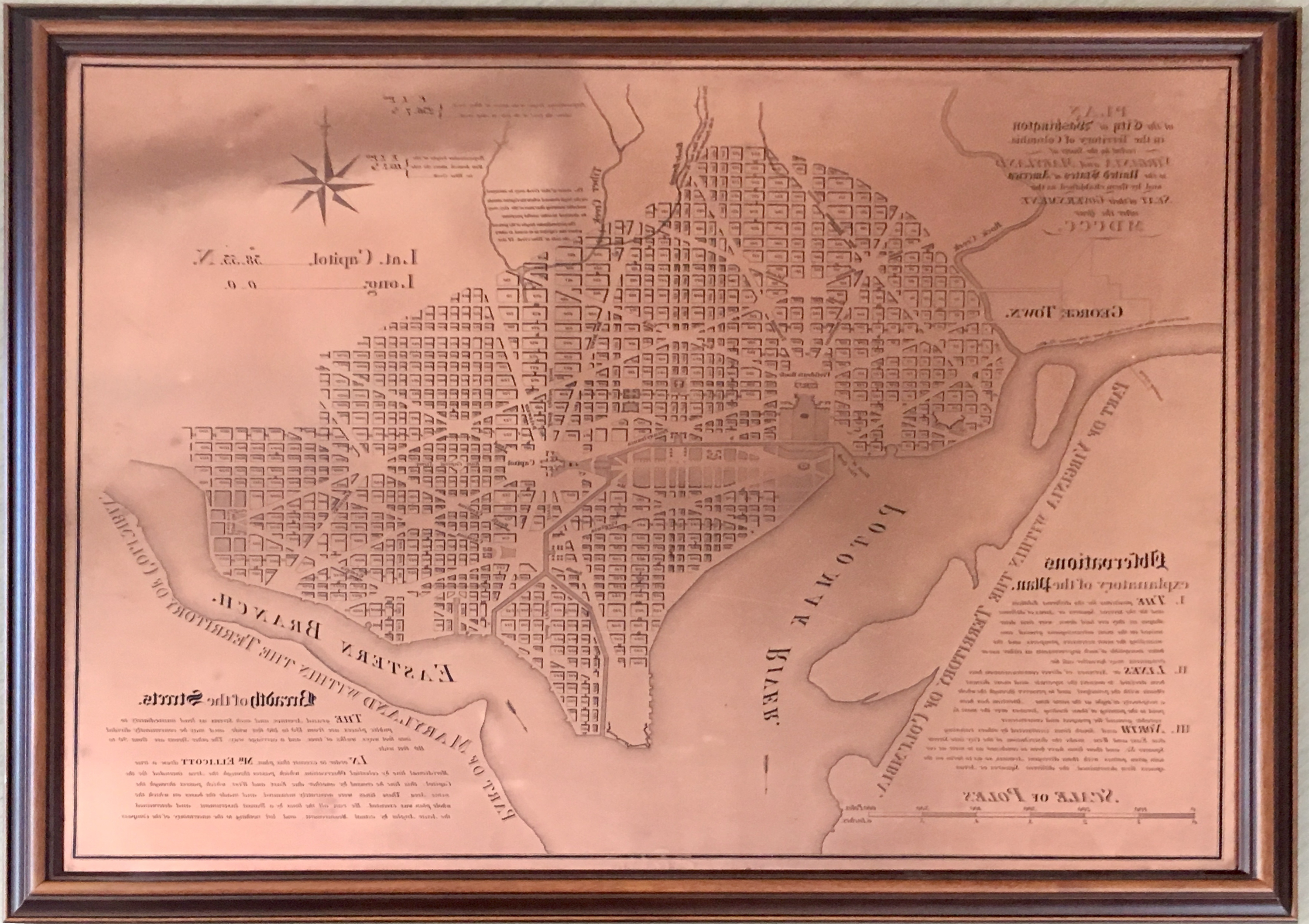 This copper plate, named No. 3043 PRICE 45 CENTS, is one of the 3000 series of special products produced by Coast Survey's predecessor, the Coast and Geodetic Survey. The Coast and Geodetic Survey primarily made nautical charts, but a number of maps in the 3000 series were instead maps of some thematic factor of interest (i.e., the Slaver Map, No. 3033; Glacier Bay, Alaska, No. 3095).